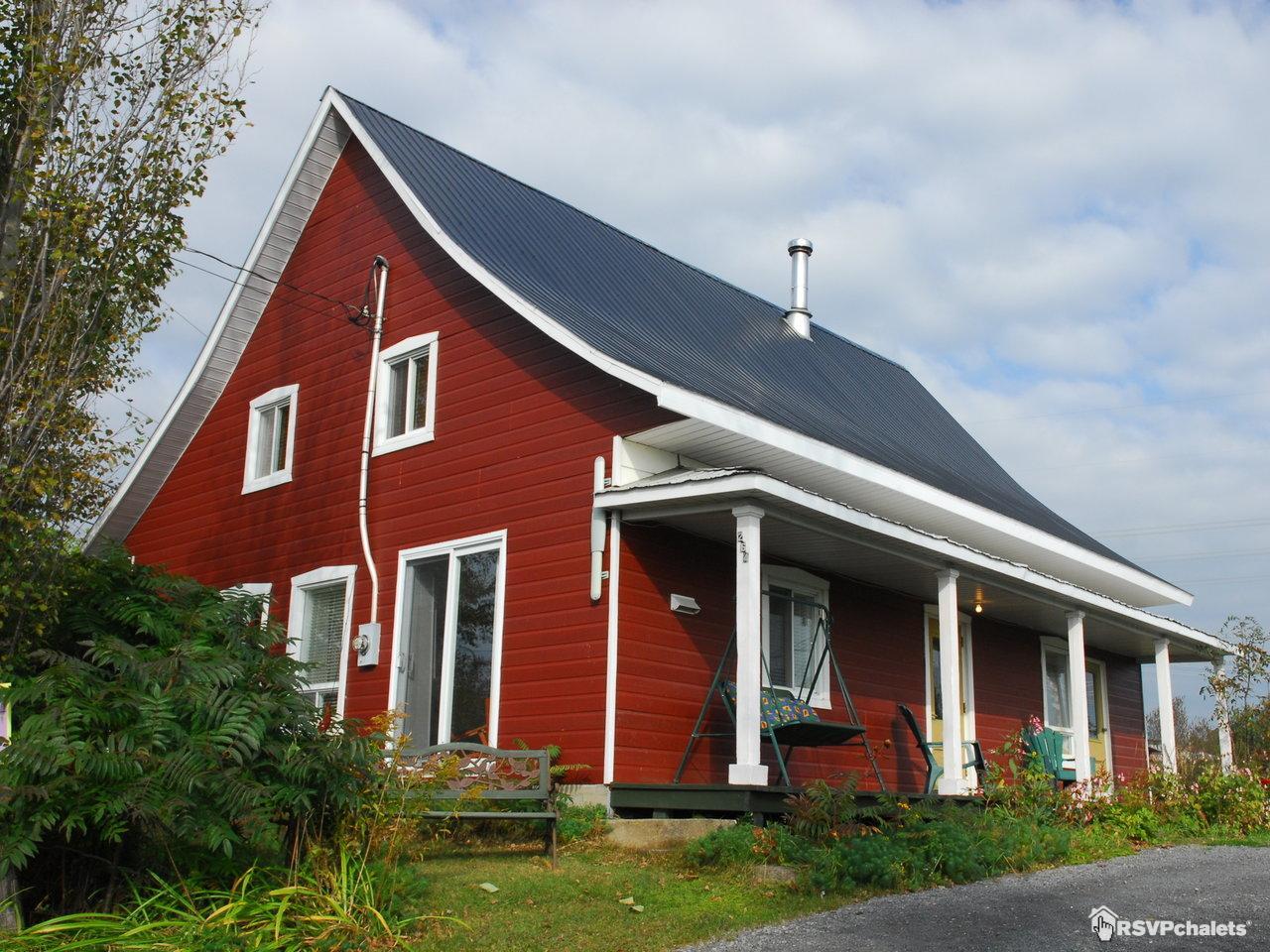 Chalet louer la maison du d tour baie st paul charlevoix for Canada maison a louer