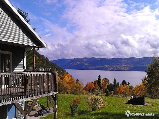 Villa de la Montagne sur le Fjord
