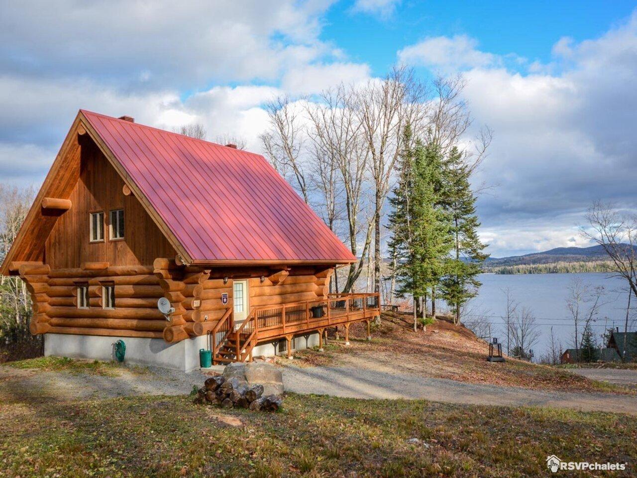 chalet 224 louer le bois de pin lac des plages outaouais
