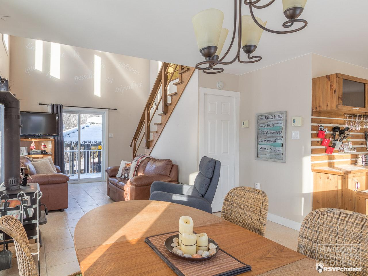 Cottage for rent: Au Petit Cap Vert   Rivière-à-Pierre ...
