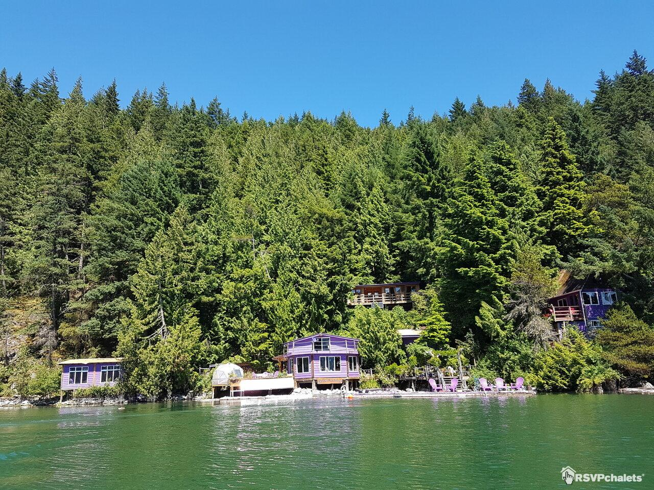Chalet louer elfinlau paradise harrison hot springs - Micro piscine bois ...
