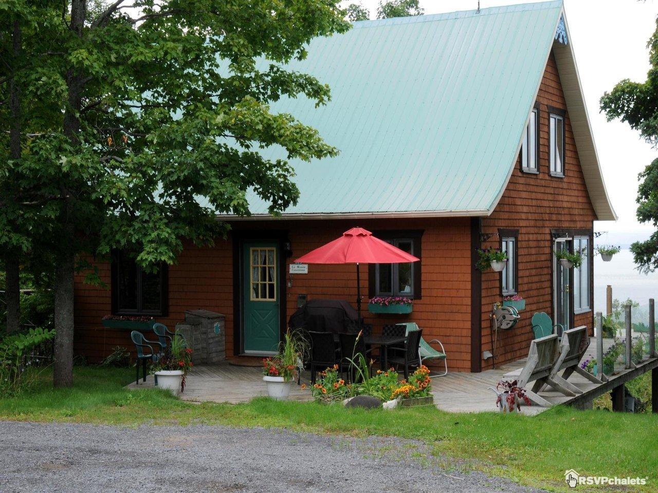 Chalet à louer : La Maison Canadienne | La Malbaie, Charlevoix