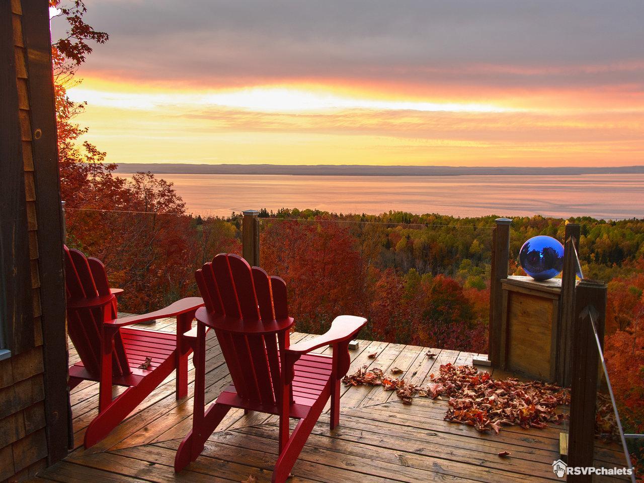 Chalet louer la maison canadienne la malbaie charlevoix - Maisons canadiennes ...