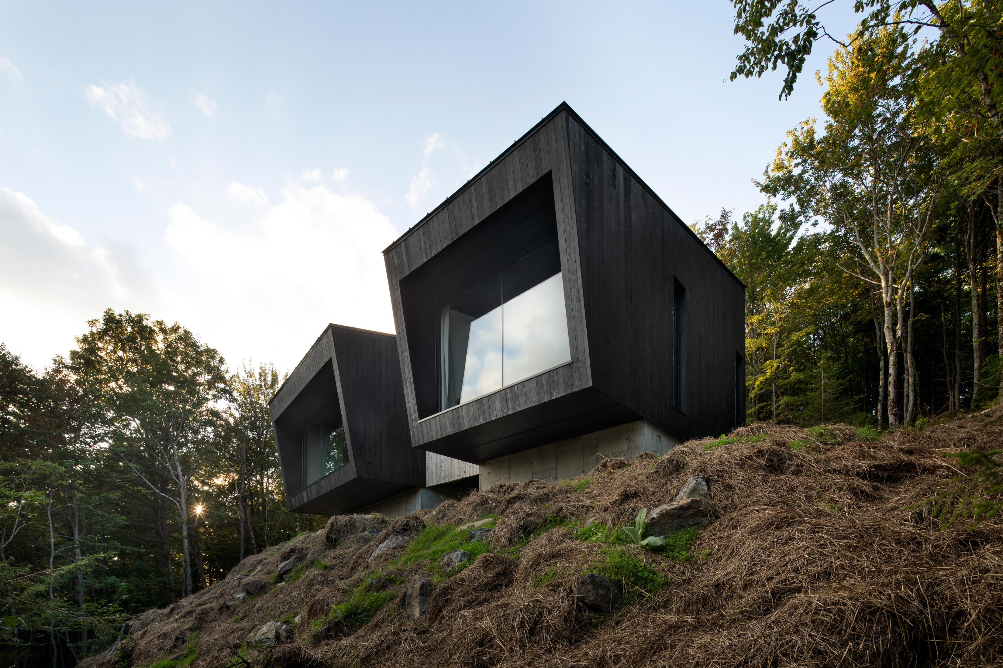 Mini Chalet En Bois cottages, country houses and cabins architecture